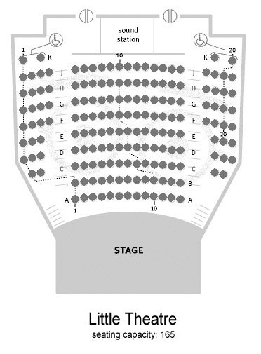 Little Theater Floor Plan