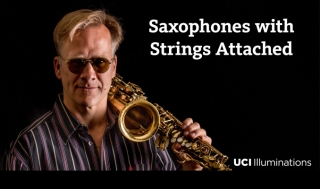 Saxophones with Strings Attached