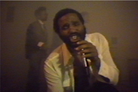 Ulysses Jenkins, Two Zone Transfer, 1979. Still of video transferred to DVD, color, sound, 23:52 min