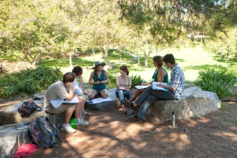 What is the score system of the Analytical Writing Placement Exam for UC?
