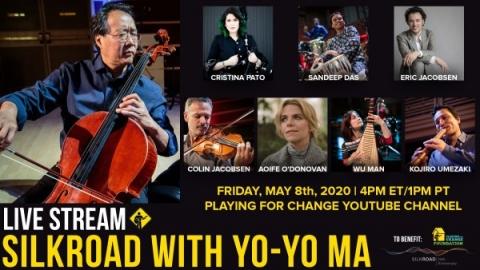 Yo-Yo Ma and Silkroad Livestream Event, feat. UCI Music Professor Kojiro Umezaki